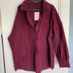 NWT Missguided shacket